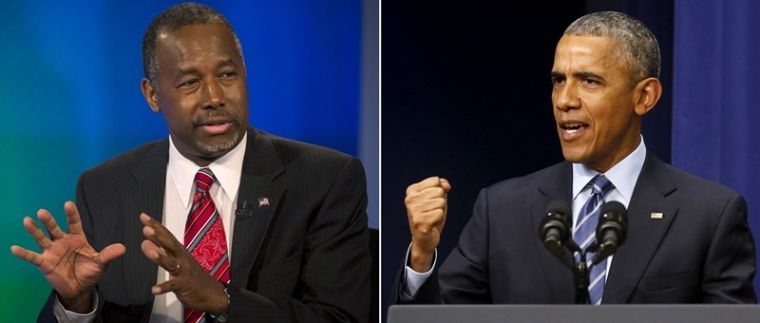 Ben Carson and Barack Obama