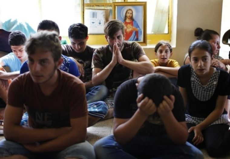 Displaced Iraqi Christians