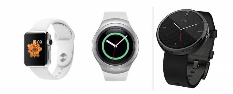 Moto 360 2 (2015) vs Samsung Gear S2 vs Apple Watch specs ...