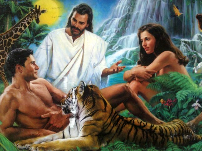 Adam and Eve Jesus