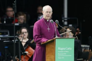 Canterbury Archbishop Justin Welby