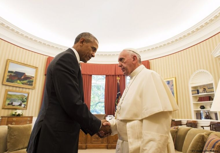 Pope Francis in White House