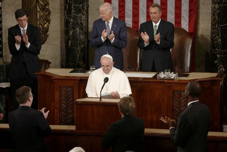 Pope Francis in US Congress