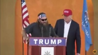 Willie Robertson and Donald Trump
