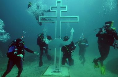 Underwater church