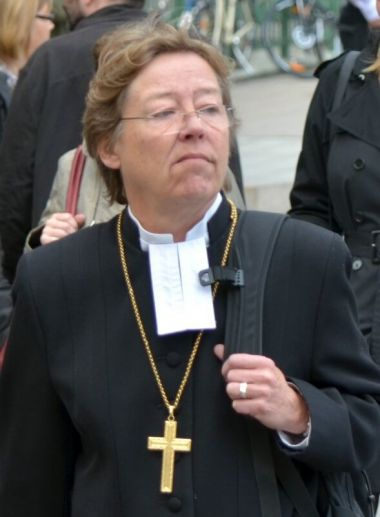 Lutheran Bishop Eva Brunne of Sweden