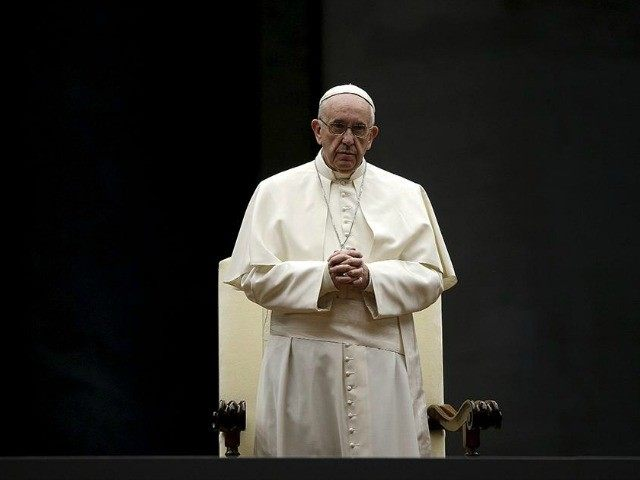 Pope Francis at the Synod in Rome