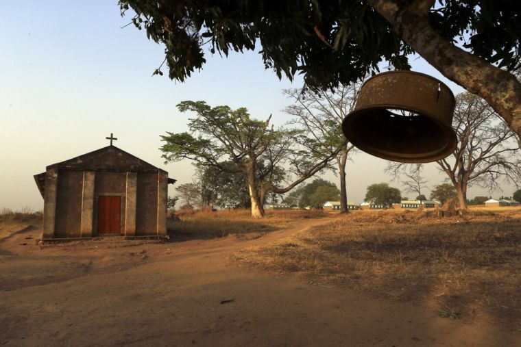 Uganda village church