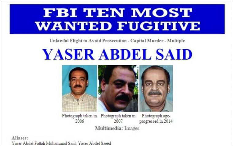 One of FBI's most wanted fugitive