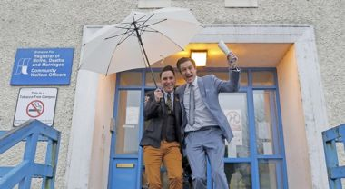 First gay couple in ireland