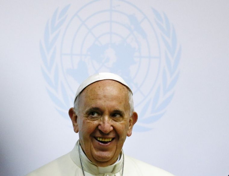 Pope Francis at UN Africa