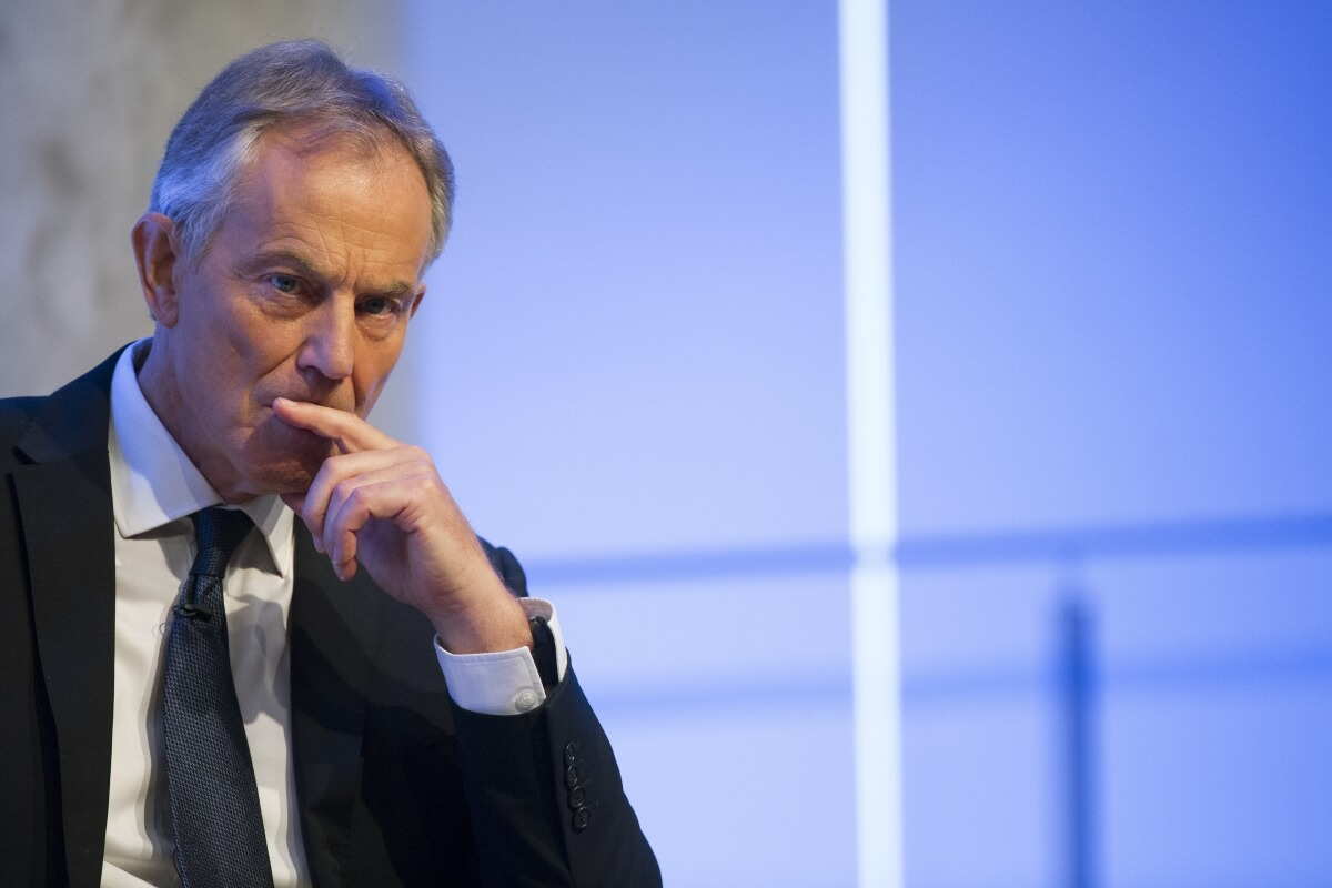 Former British PM Tony Blair renews argument against a 'hard' Brexit'