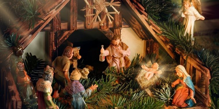 us church nativity scene - What Is The Date Of Christmas