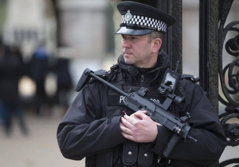 British armed police