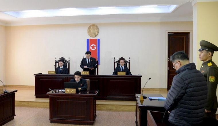 Pastor Hyeon Soo Lim stands trial in North Korea