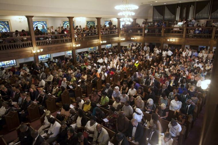 Black church in U.S.
