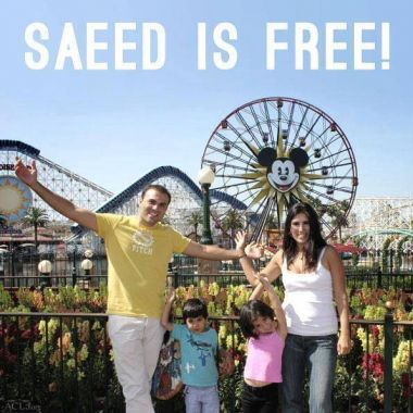Saeed is Free