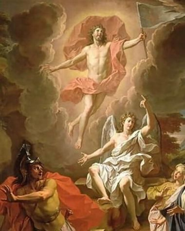 Resurrection of Christ painting