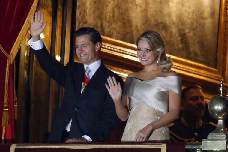 Mexico president and first lady