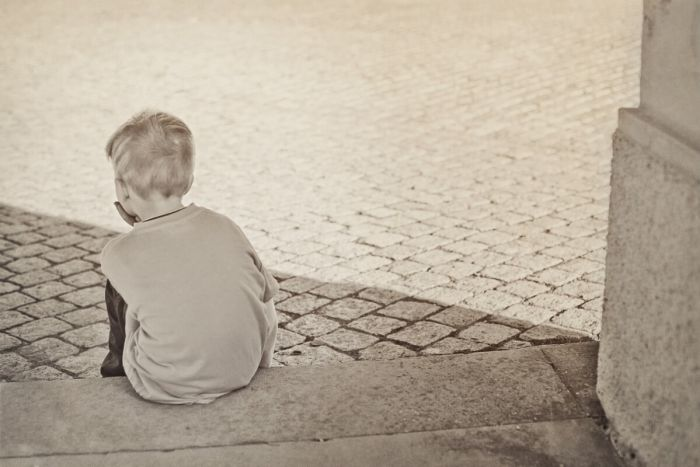 Lonely and Sad Child