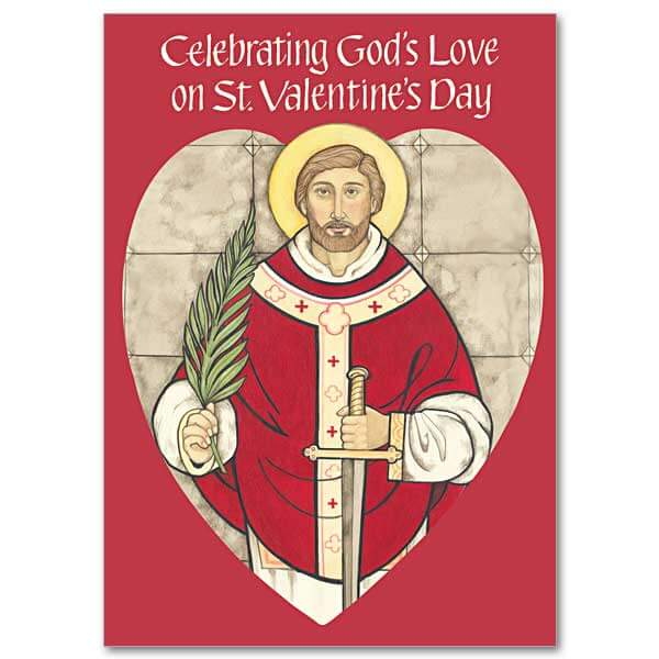 Jesus is my Valentine Christian cards and gifts for that special – Saint Valentine Card