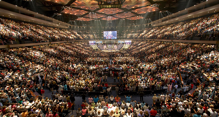 Megachurch Interior