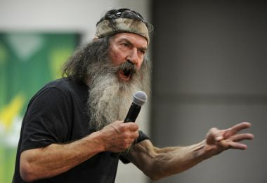 Phil Robertson campaigns for Ted Cruz