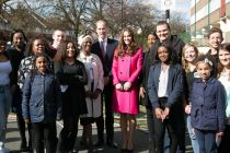 William and Kate visit Christian charity XLP