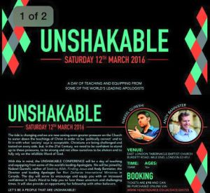 Unshakeable Conference