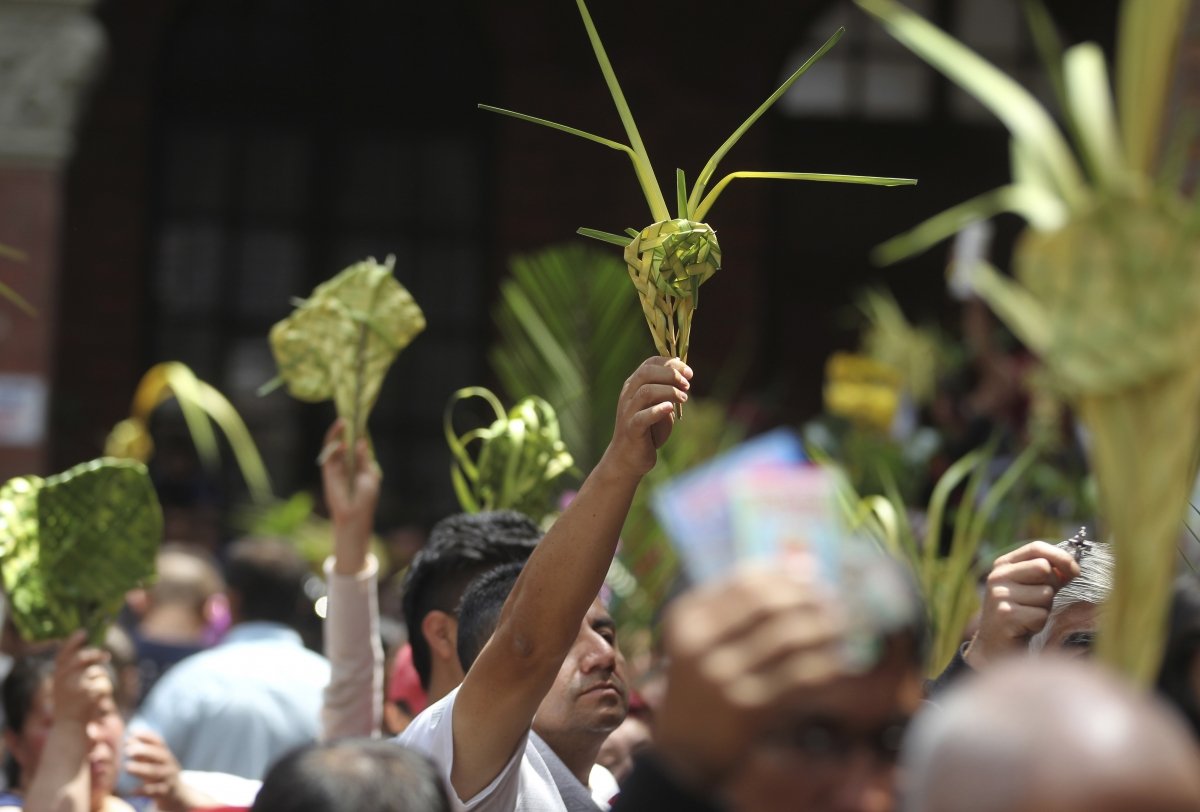 Holy Week 2018 begins with Palm Sunday rites