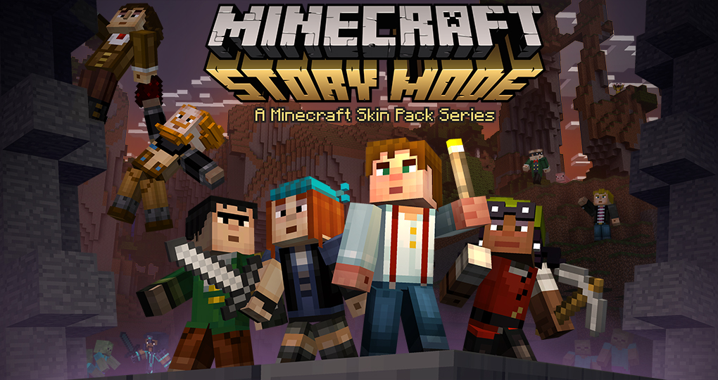 Minecraft Story Mode Skin Pack Released Downloadable For Free - Skin para minecraft pe pc