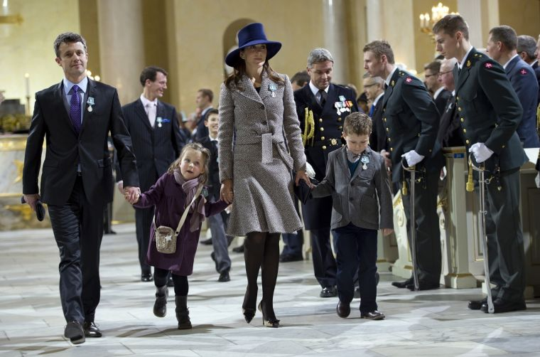 Danish Crown Princess Mary and Crown Prince Frederik