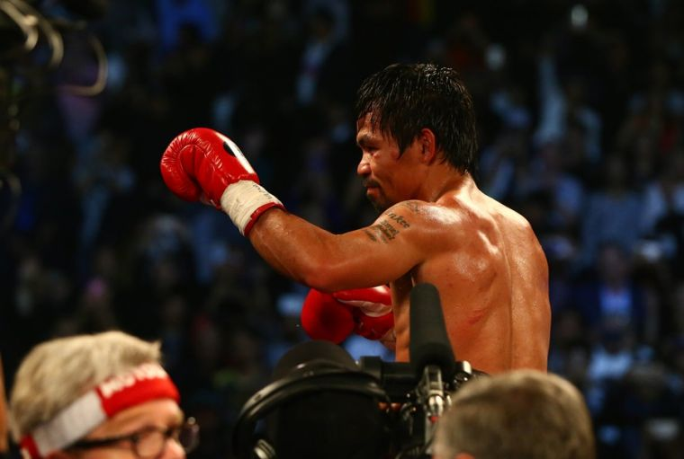 Manny Pacquiao after Bradley fight