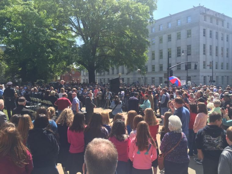 North Carolina rally in support of HB2