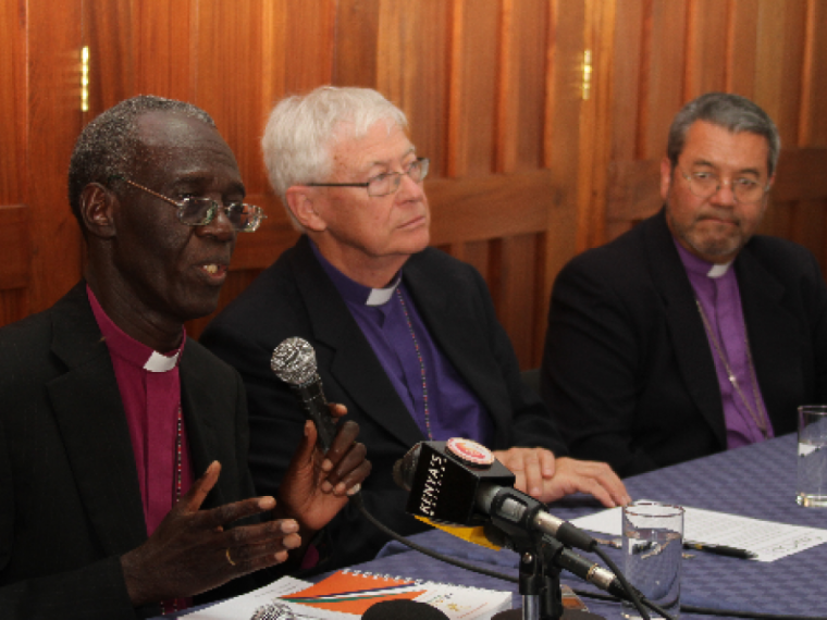 Archbishop Eliud Wabukala and Peter Jensen