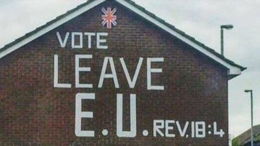 Brexit Bible mural