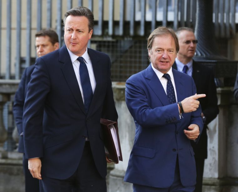 David Cameron Huge Swire