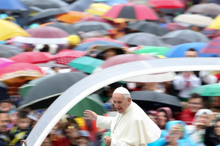 Pope Francis in St. Peter's Square