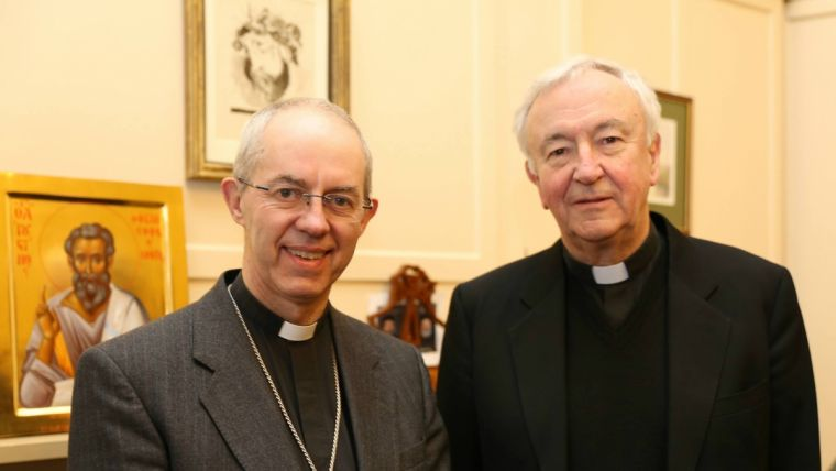 Vincent Nichols and Justin Welby