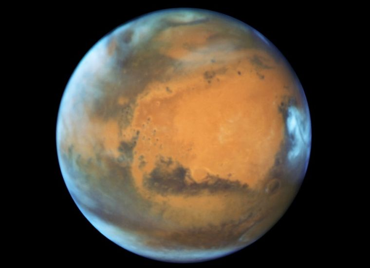 Mars view on May 12, 2016