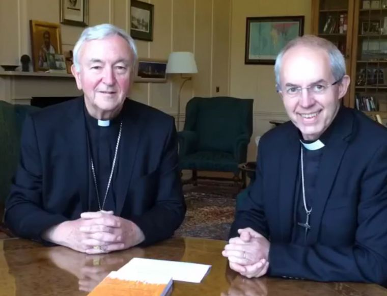 Justin Welby and Vincent Nichols Facebook