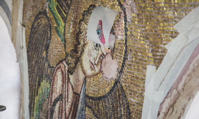 Angel mosaic