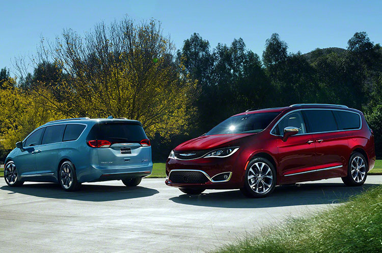 2017 Chrysler Pacifica Price New Minivan Lands In Dealerships News On Today