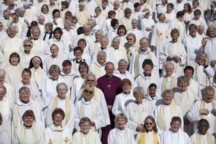 Justin Welby and women clergy