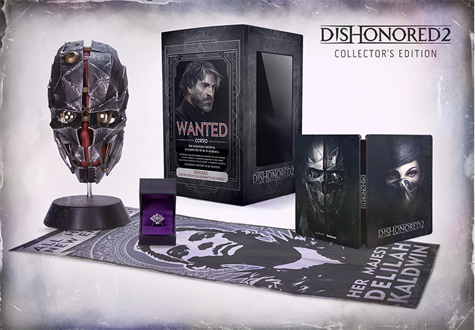 dishonored 2 pre order bonus location