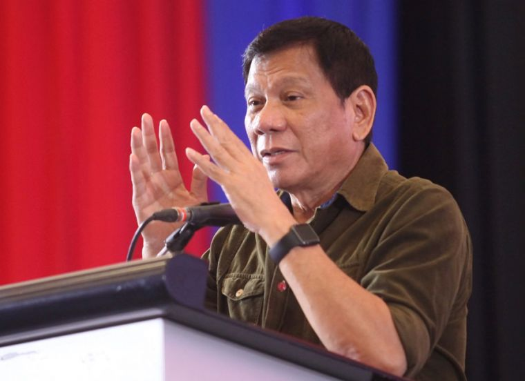 Rodrigo Duterte in Davao City