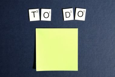 Post it To Do List
