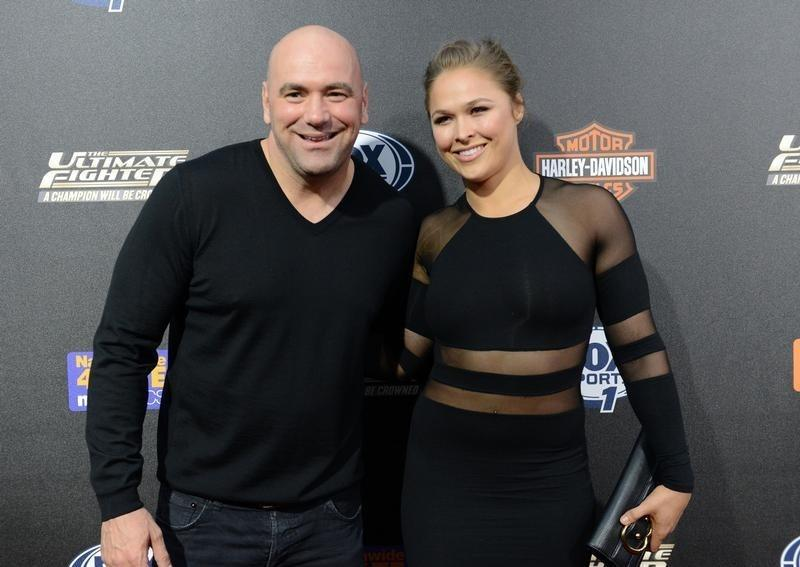 Ronda Rousey Confirms Engagement With Hilarious Photo