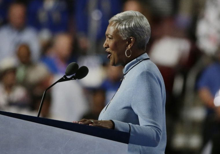 Bernie Sanders supporters booed when Rev Cynthia Hale delivered mentioned Hillary Clinton in her opening prayers at the Democratic National Convention in Philadelphia, Pennsylvania.