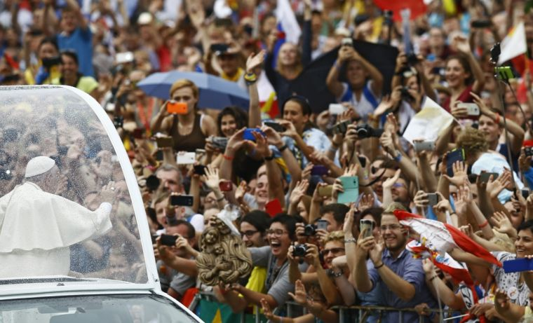 Pope Francis in Poland